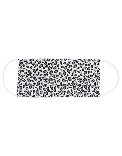Face Covering in Pure Cotton Leopard, Leopard (LEOPARD), large