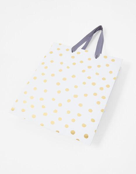 Gold Spot Medium Gift Bag, , large