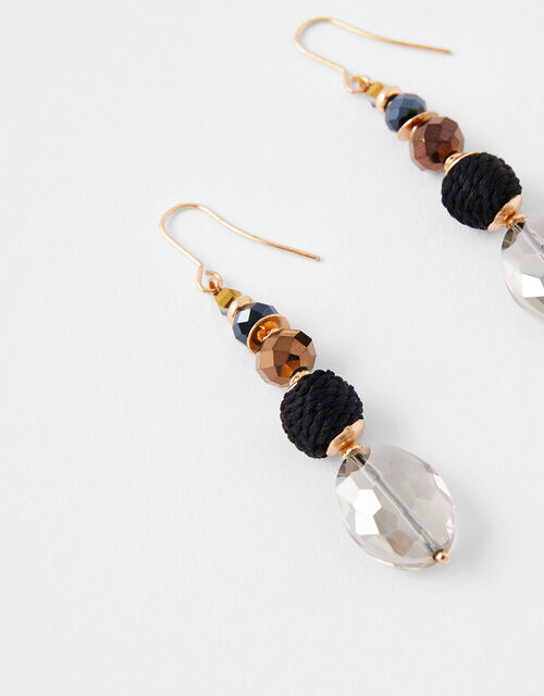 Beaded Drop Earrings, , large