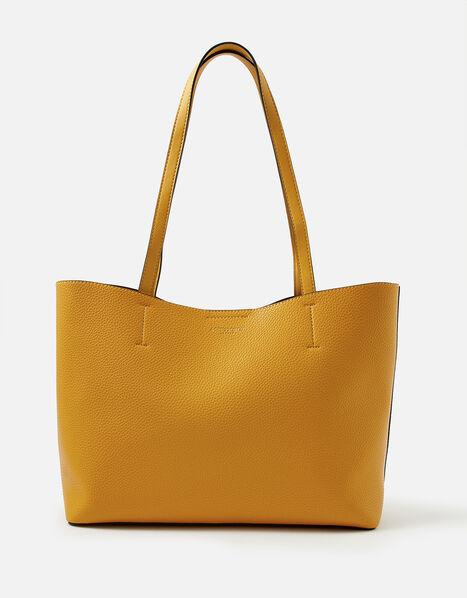 Leo Tote Bag Yellow, Yellow (OCHRE), large