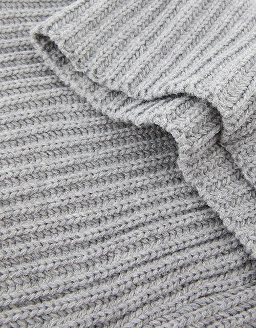 Chunky Knit Snood, Grey (LIGHT GREY), large