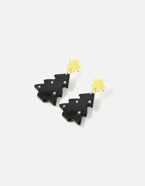 Christmas Tree Drop Earrings , , large