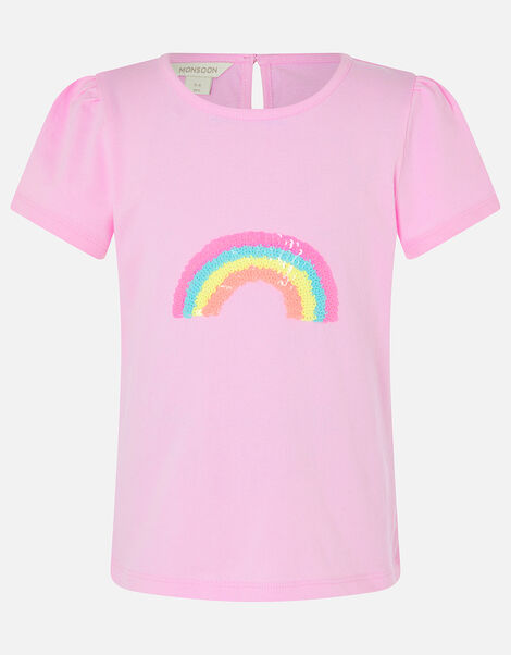 Sequin Rainbow T-Shirt Multi, Multi (BRIGHTS-MULTI), large