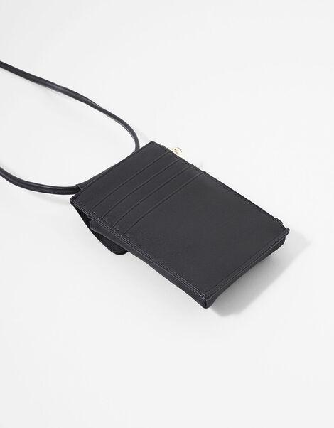 Carrie Utility Phone Bag Black, Black (BLACK), large