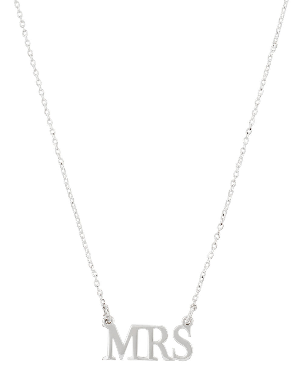Sparkle Mrs Necklace, , large