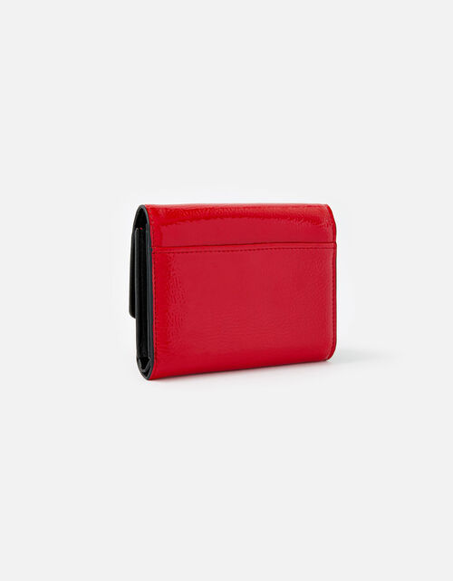 Patent Lock Purse, Red (RED), large