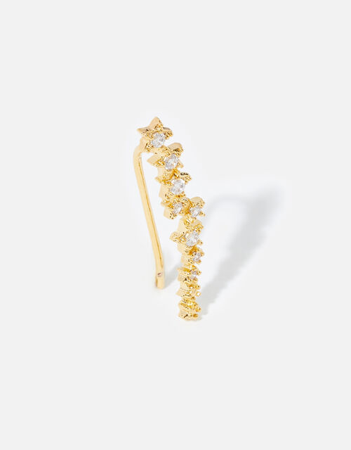Gold-Plated Star Ear Crawler , , large