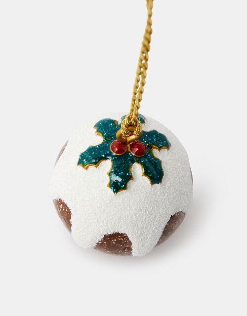 Christmas Pudding Hanging Decoration, , large
