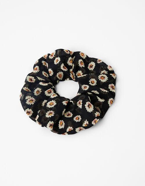 Daisy Chiffon Oversized Scrunchie, , large