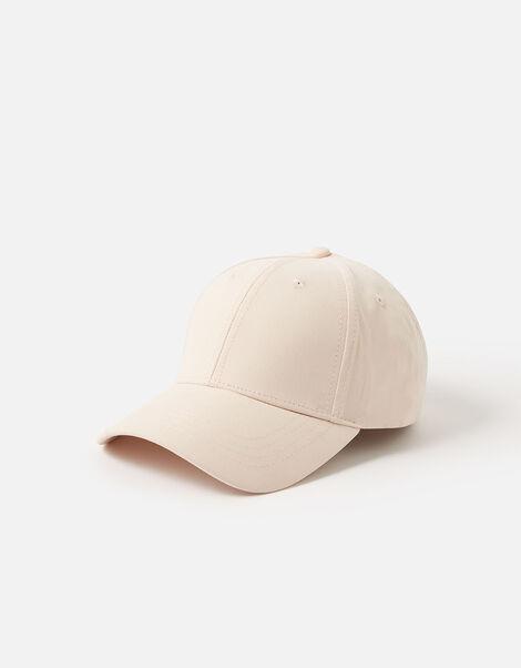 Jamie Plain Baseball Cap Pink, Pink (PALE PINK), large