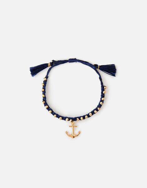 St Ives Anchor Friendship Bracelet, , large