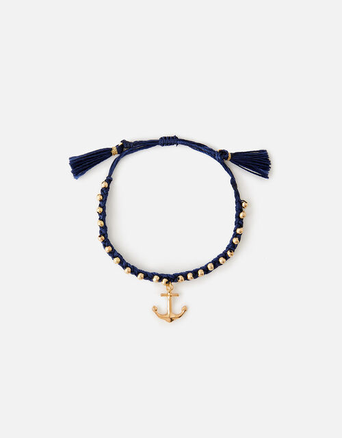 St Ives Anchor Friendship Bracelet, , large