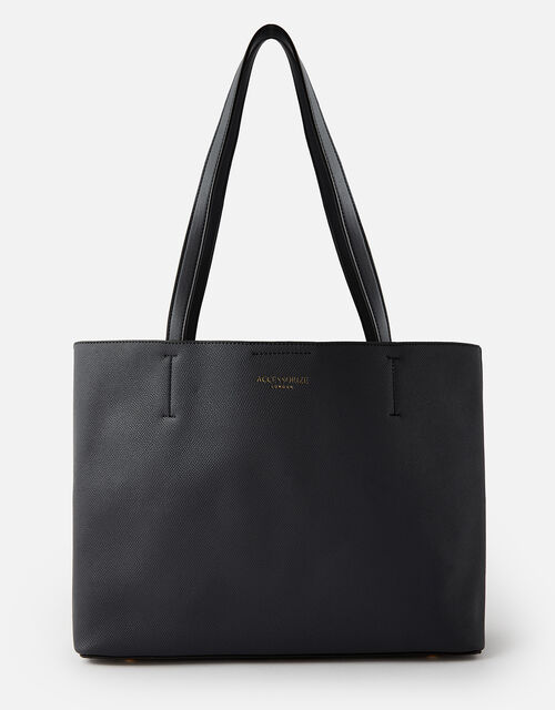 Leo Tote Bag, Black (BLACK), large