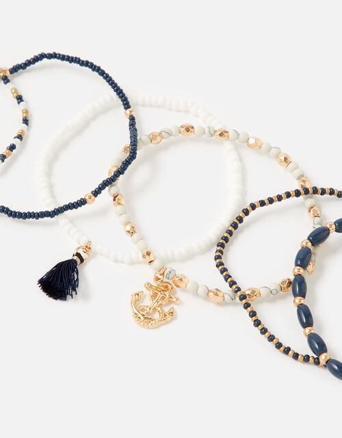 St Ives Charmy Stretch Bracelet Multipack , , large