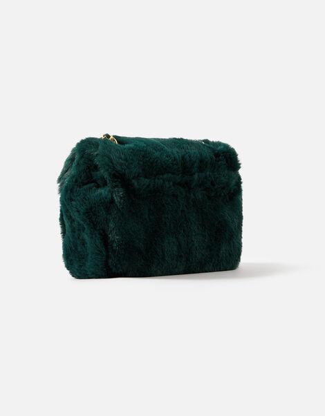 Billie Mini Faux Fur Cross-Body Bag  Green, Green (GREEN), large