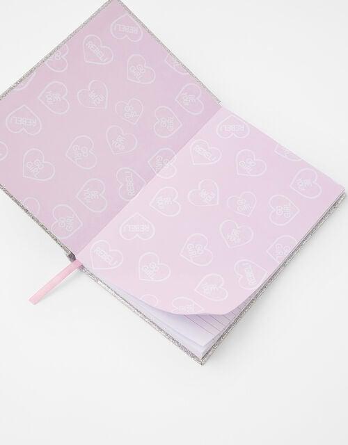 Squishy Sequin Unicorn Notebook, , large