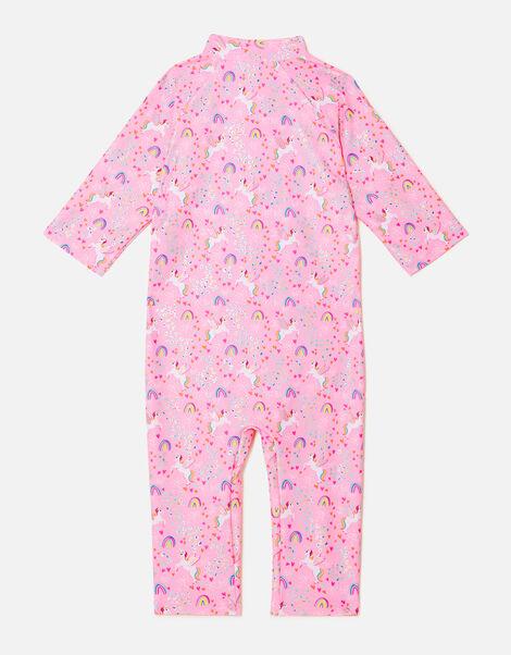 Unicorn Sunsafe Swimsuit Pink, Pink (PINK), large