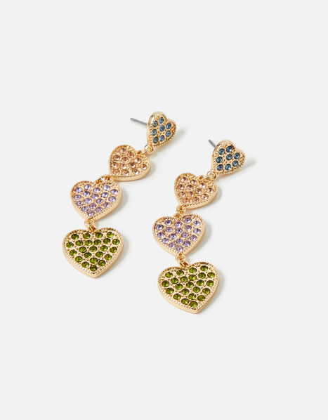 Feel Good Heart Drop Earrings, , large