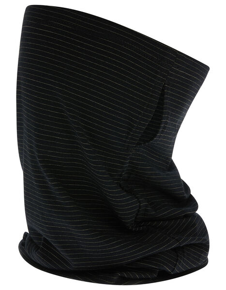 Antibacterial Snood Face Covering Black, Black (BLACK), large