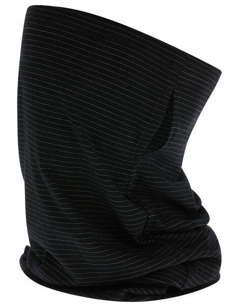 Antibacterial Snood Face Covering Black, Black (BLACK), large