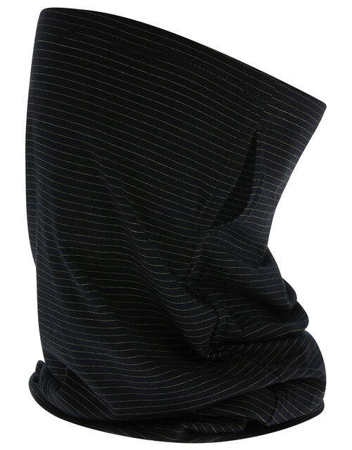 Antibacterial Snood Face Covering, Black (BLACK), large