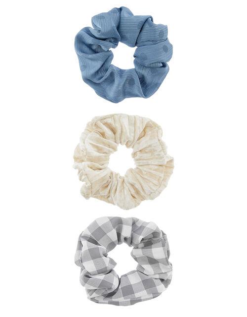 Mixed Hair Scrunchie Set, , large