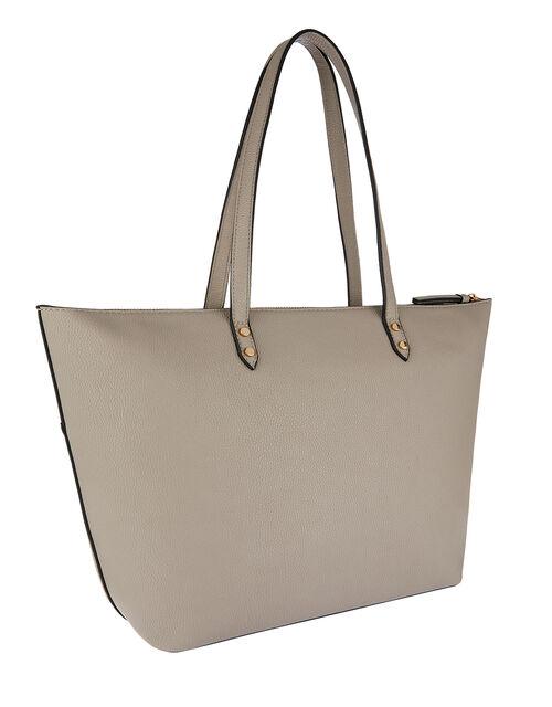 Molly Tote Bag, Grey (GREY), large