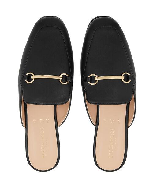 Backless Loafers, Black (BLACK), large
