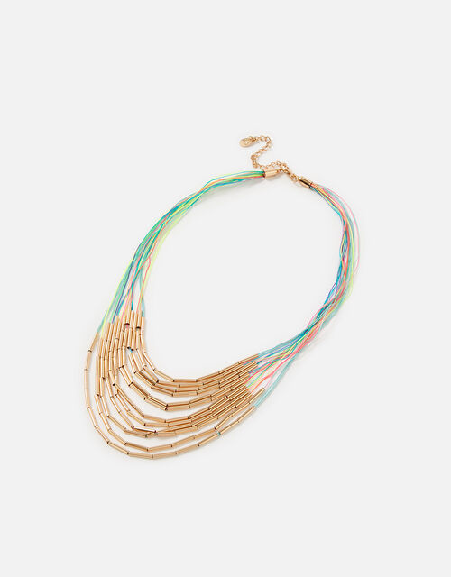 Island Vibes Marley Layered Collar Necklace, , large