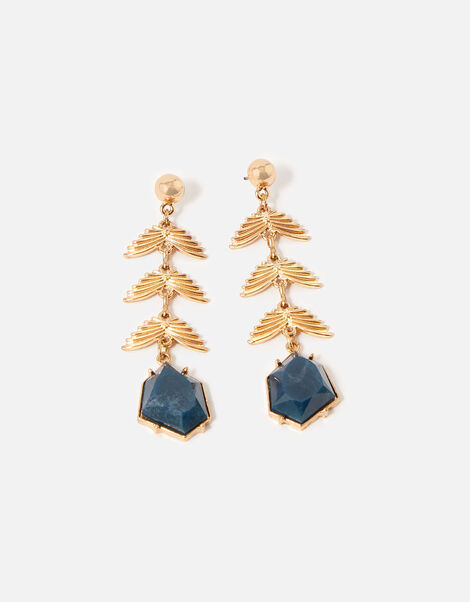 Country Retreat Leaf Drop Earrings , , large