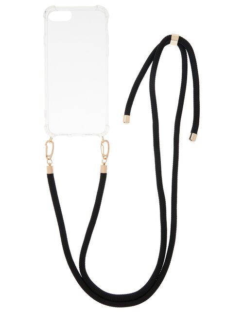 Cord iPhone Necklace, Black (BLACK), large