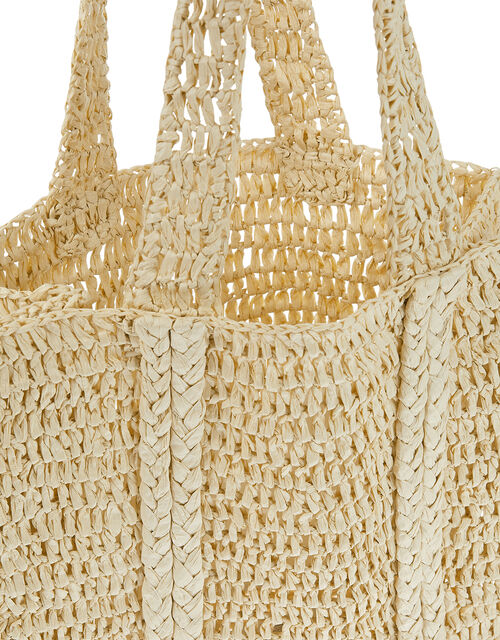 Slouchy Weave Shopper Bag, , large