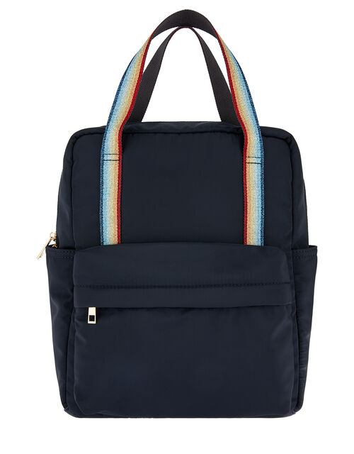 Zoe Rainbow Strap Backpack, , large