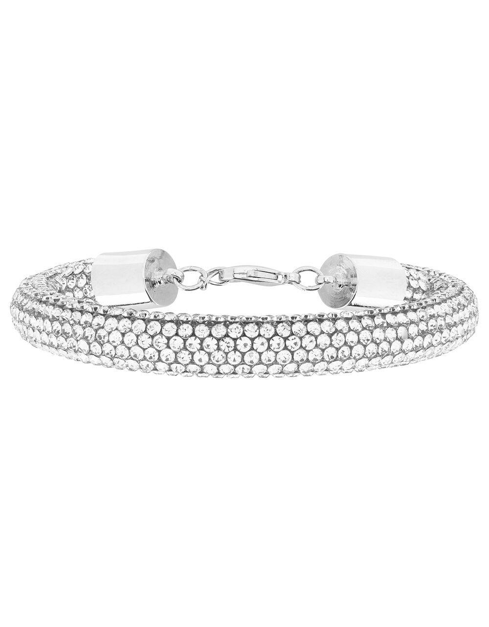 Chunky Diamanté Bracelet, , large