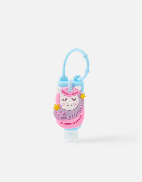 Unicorn Hand Sanitiser Keyring, , large