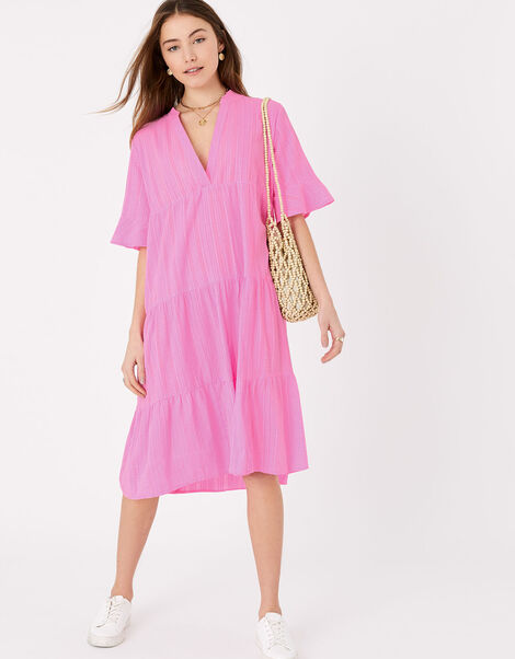 Trapeze Dress Pink, Pink (PINK), large