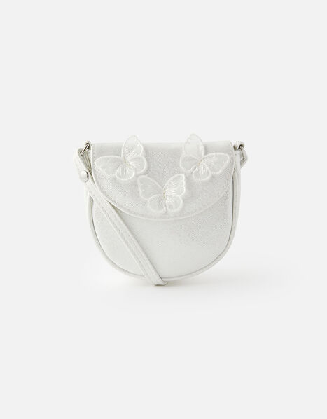 Butterfly Cross-Body Saddle Bag, , large