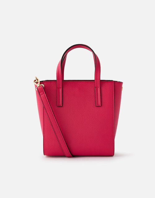 Mini Top Handle Cross Body , Pink (PINK), large