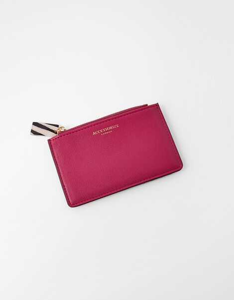 Cora Card Holder  Red, Red (BERRY), large