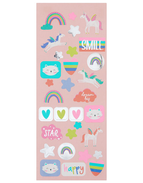 Unicorn and Rainbow Sticker Roll, , large