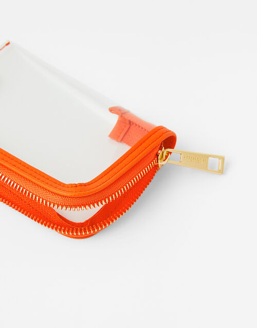 Small Face Covering Pouch Bag, Orange (ORANGE), large