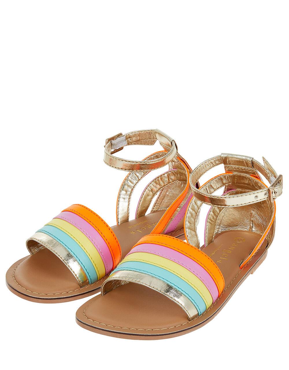 Rainbow Sandals, Multi (BRIGHTS-MULTI), large