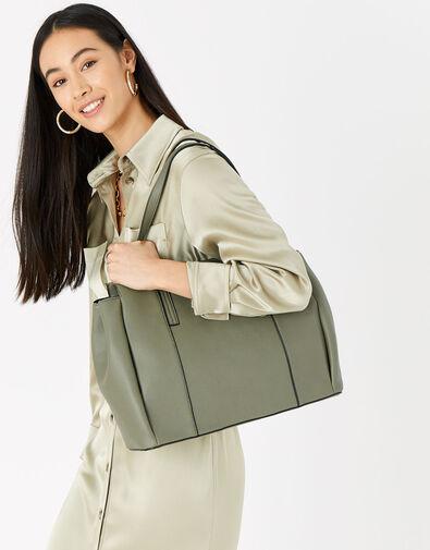 Lauren Work Bag Green, Green (KHAKI), large