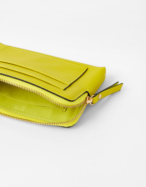 Chloe Coin and Cardholder Purse, Green (LIME), large