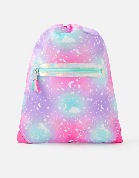 Cosmic Magic Print Drawstring Bag, , large