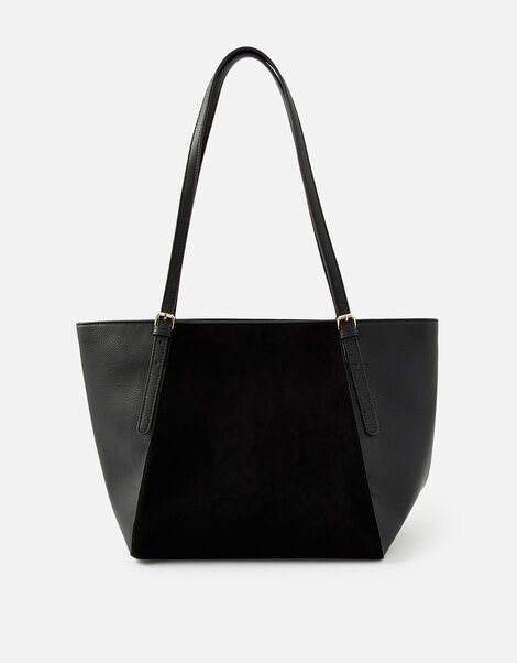 Leonie Tote Bag Black, Black (BLACK), large