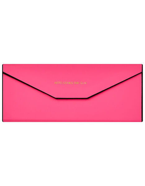 Foldable Sunglasses Case, Pink (PINK), large