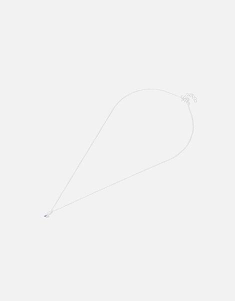 Sterling Silver Swarovski® Pendant Necklace, , large