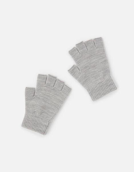 Plain Fingerless Gloves, , large