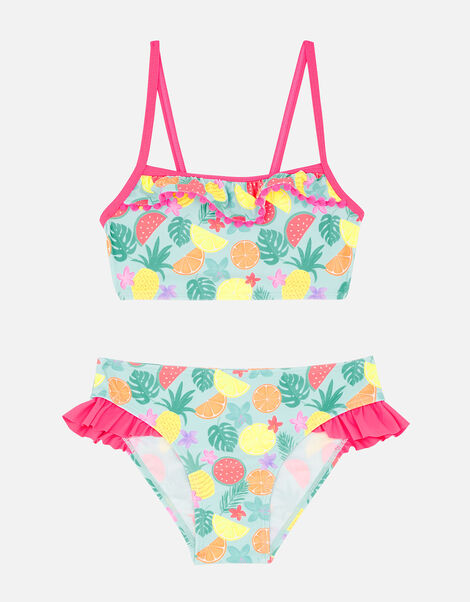 Fruit Print Bikini Set Multi, Multi (BRIGHTS-MULTI), large